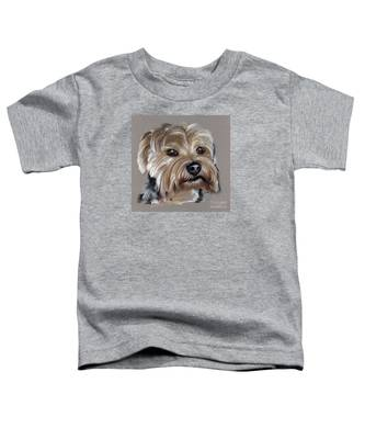 Yorkshire Terrier- Drawing Toddler T-Shirt
