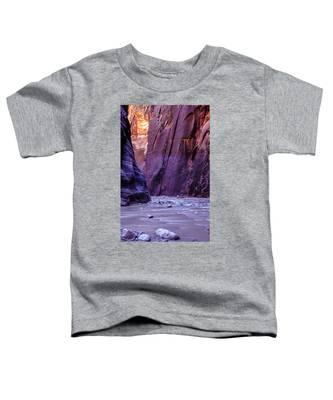 Zion Narrows Toddler T-Shirt