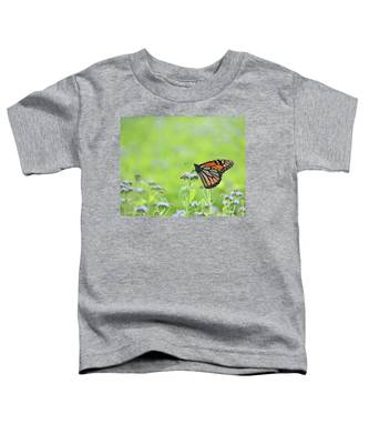 Monarch And Mist Toddler T-Shirt