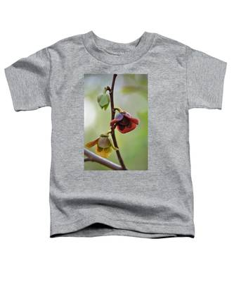 Paw-paw Flowers Toddler T-Shirt