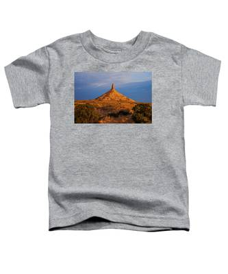 Sunrise At Chimney Rock Toddler T-Shirt