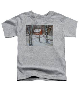 Winter In The Woods Toddler T-Shirt
