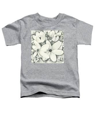 Flowers Pencil Toddler T-Shirt