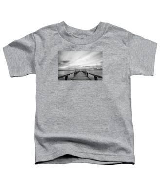 Melbourne Beach Pier Sunset Toddler T-Shirt