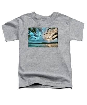 Beautiful Landscape Scenes At Lake Jocassee South Carolina Toddler T-Shirt