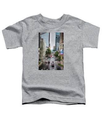 Charlotte North Carolina Views Around  Downtown Toddler T-Shirt