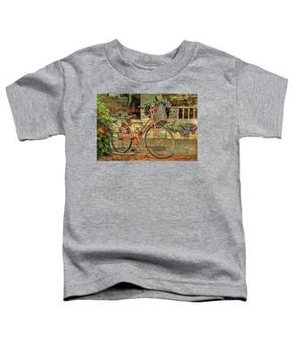 A Basketful Of Spring Toddler T-Shirt