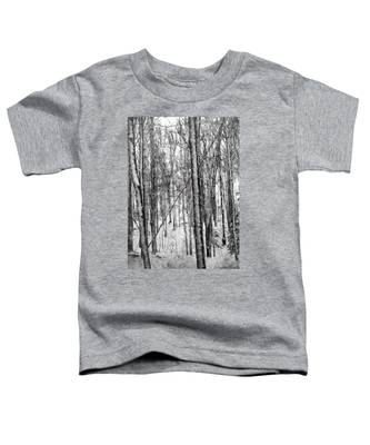 A Tree's View In Winter Toddler T-Shirt