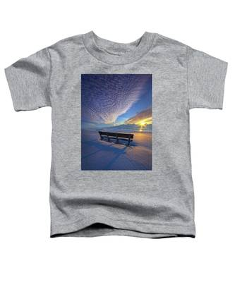A Whole World In Front Of Us Toddler T-Shirt