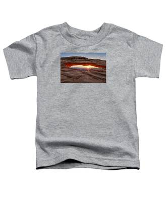 Another Sunrise At Mesa Arch Toddler T-Shirt