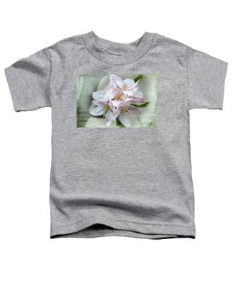 Apple Blossoms From My Hepburn Garden Toddler T-Shirt