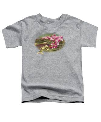 Dendrobium Orchids Toddler T-Shirt