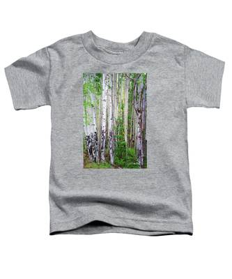 Aspen Grove In The White Mountains Toddler T-Shirt