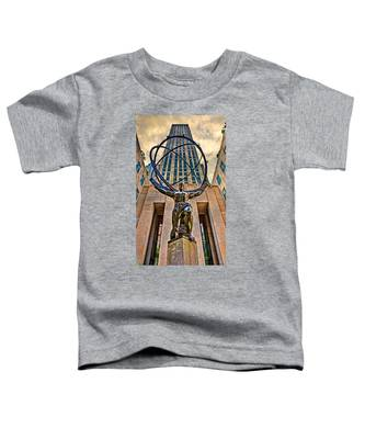 Atlas At The Rock Toddler T-Shirt