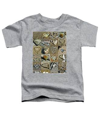 Awesome Hearts Found In Nature - Valentine S Day Toddler T-Shirt