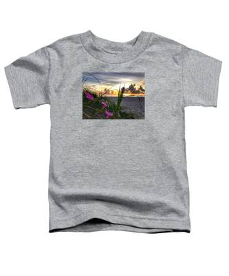 Beach Flowers Toddler T-Shirt
