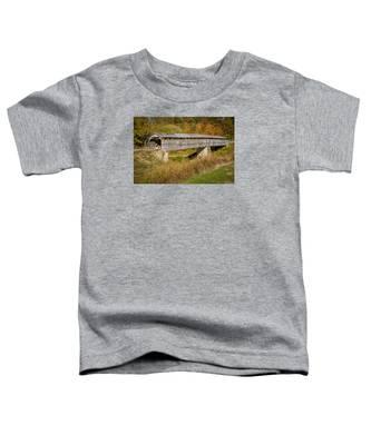 Beech Fork Or Mooresville Covered Bridge Toddler T-Shirt