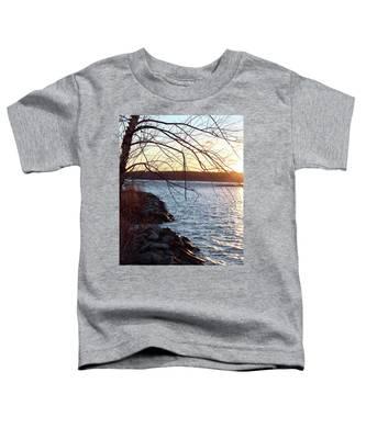 Late-summer Riverbank Toddler T-Shirt