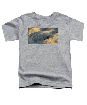 Brave Beginnings Sea Turtle Hatchling Delray Beach Florida Toddler T-Shirt