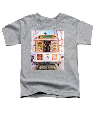 Cable Car No. 10 Toddler T-Shirt