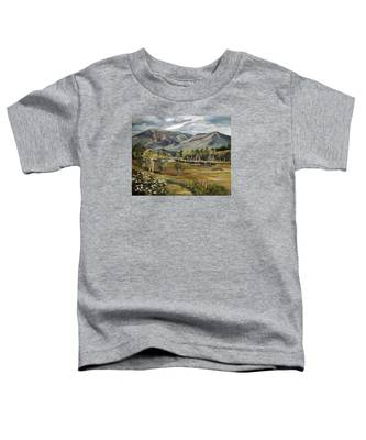Cannon Mountain From Sugar Hill New Hampshire Toddler T-Shirt