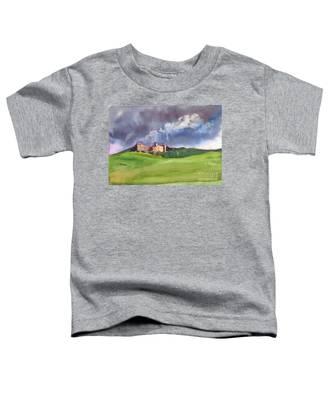 Castle Under Clouds Toddler T-Shirt