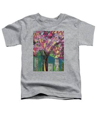 Cherry Blossom Too Toddler T-Shirt
