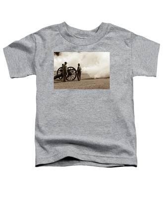 Civil War Era Cannon Firing  Toddler T-Shirt