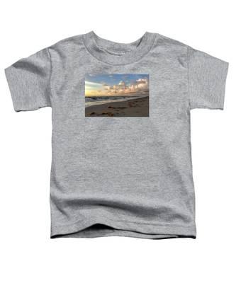 Cloudy Horizon  Toddler T-Shirt