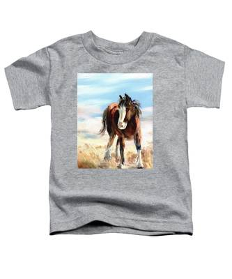 Clydesdale Foal Toddler T-Shirt