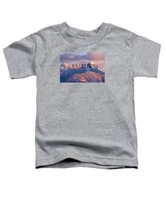 Court House Mountain Glow Toddler T-Shirt