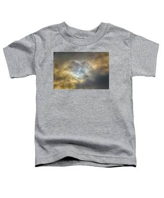 Curtain Of Clouds Eclipse Toddler T-Shirt