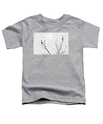 Dead Creek Cranes Toddler T-Shirt