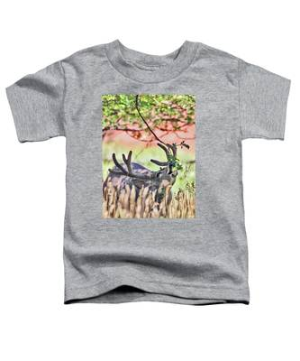 Deer In The Orchard Toddler T-Shirt