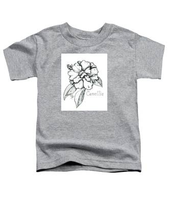 Dew Kissed Camellia Toddler T-Shirt