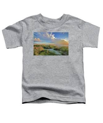 Down To The Beach 2 - Florida Beaches Toddler T-Shirt