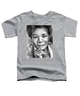 Dr Maya Angelou Toddler T-Shirt