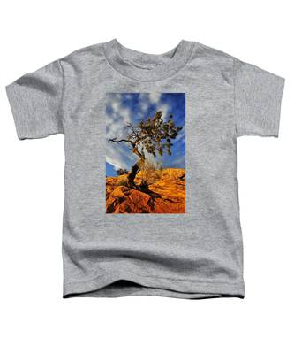 Toddler T-Shirt featuring the photograph Dusk Dance by Skip Hunt