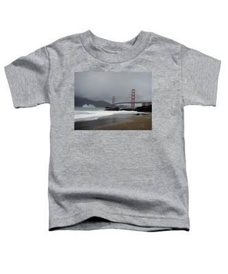 Entering The Golden Gate Toddler T-Shirt