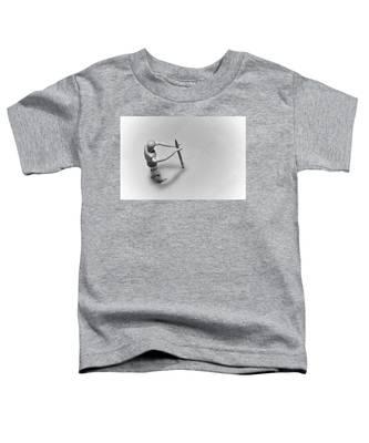 Erasing His Tracks Toddler T-Shirt