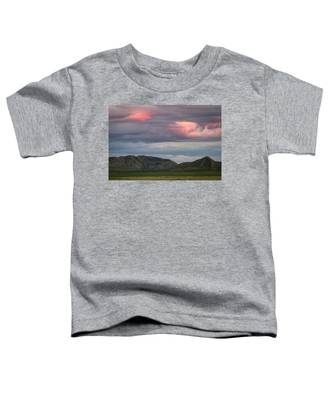 Glow In Clouds Toddler T-Shirt