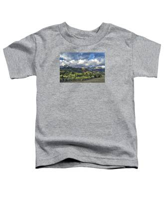 First Light On The Sneffels Range Toddler T-Shirt