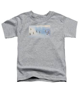 Flock Of Sanderlings Toddler T-Shirt