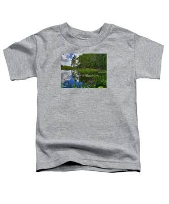 Florida Wetlands Reflections Toddler T-Shirt