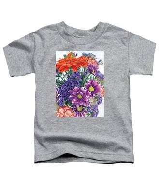 Flowers From Daughter Toddler T-Shirt