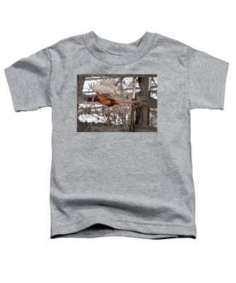 Flying Pheasant Toddler T-Shirt
