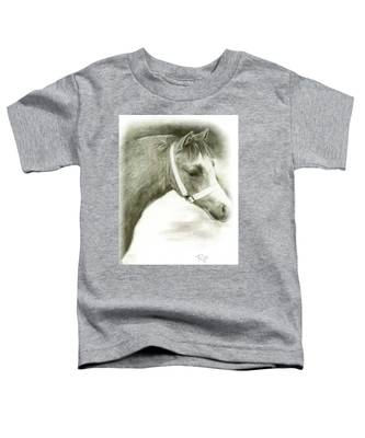 Grey Welsh Pony  Toddler T-Shirt