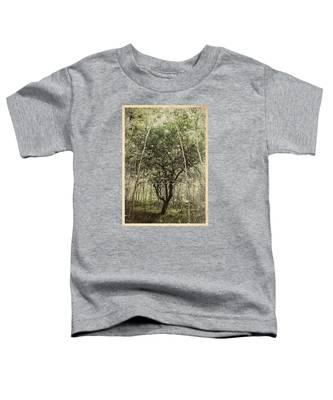 Hand Of God Apple Tree Poster Toddler T-Shirt