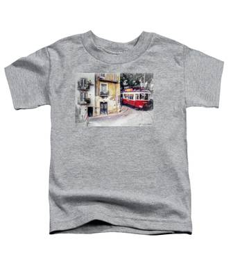 Historic Lisbon Tram Toddler T-Shirt