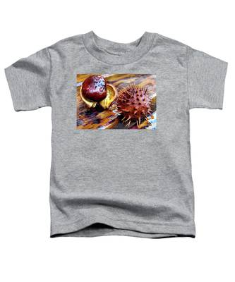 Horse Chestnut Aesculus Toddler T-Shirt
